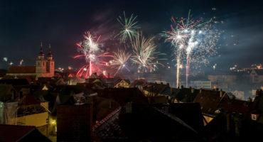 Bayreuth, Silvesternacht © Andreas Harbach