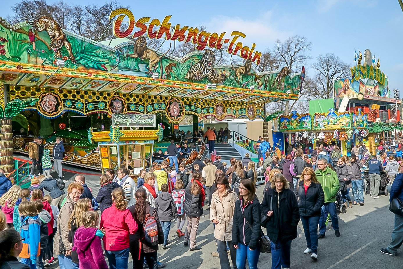 Volksfest weiden 2019