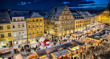 Der Christkindlesmarkt als Besandteil beim weihnachtlichen Stadtrundgang