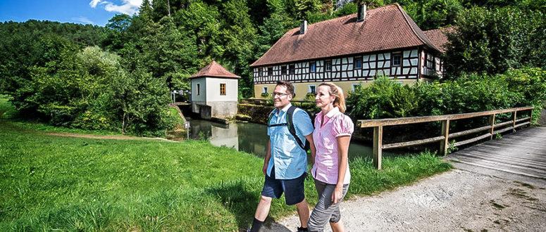 Wandern in der Fränkischen Schweiz © TZ Fränkische Schweiz