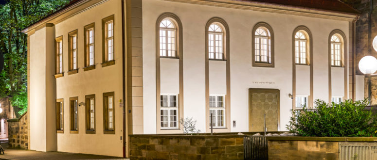 Synagoge Bayreuth © Norbert Miguletz