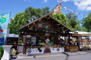 Pizza Stand Volksfest 2019
