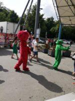 Maskottchenparade am Familientag