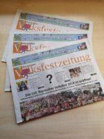 Volksfestzeitung 2019