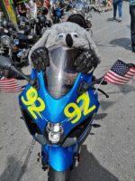 Motorrad am American Day