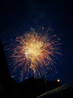 Feuerwerk zum Volksfest 2019