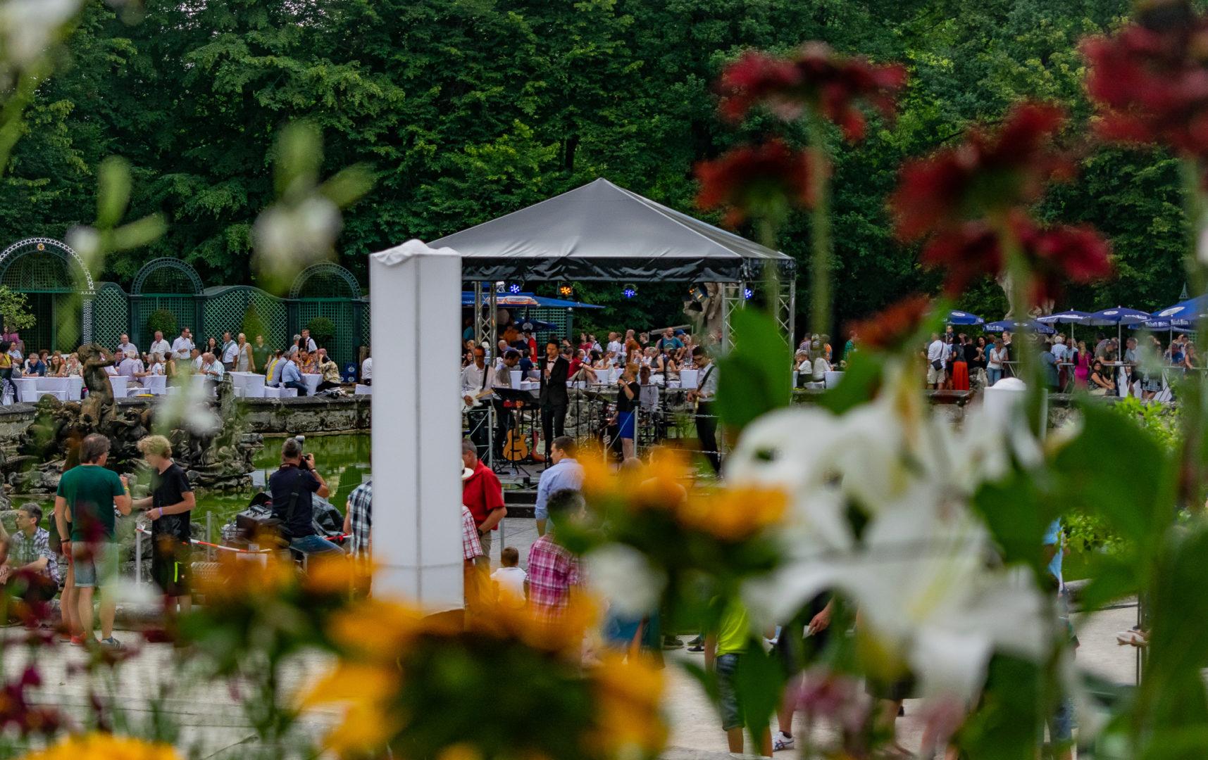 Bühne in der Orangerie