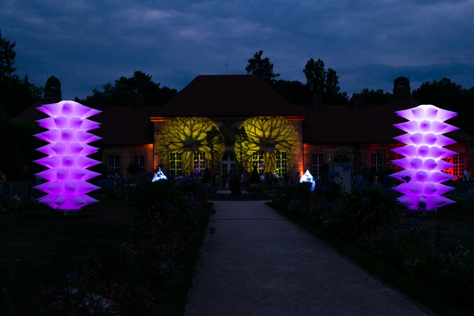 Illumination des Alten Schlosses