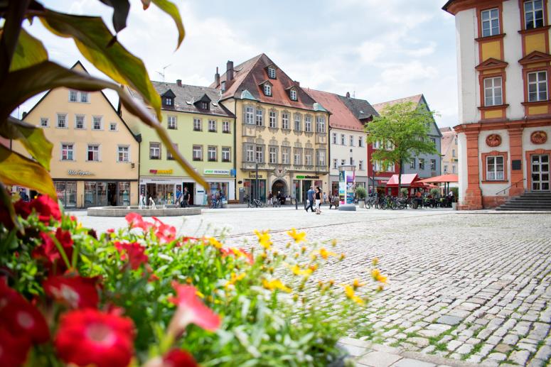 Innenstadt von Bayreuth