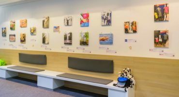 Ausstellung der Bayreuther Insta-Challenge