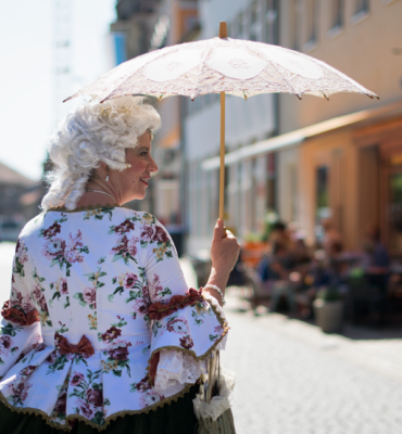 Stadt- und Erlebnisführung mit Wilhelmine