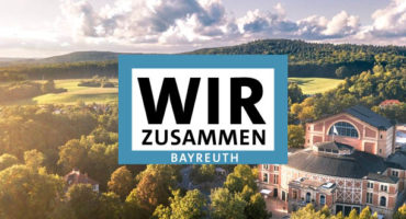Wir zusammen in Bayreuth