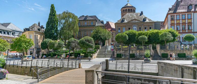 Selfie-Spot Klassische-Bayreuth-Ansicht-mit-Schlossturm