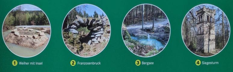 Schlosspark Fantaisie Friederike-Weg Highlights