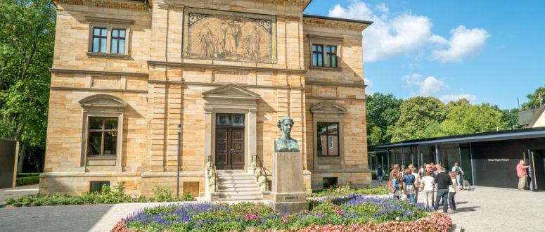 Haus Wahnfried Fronansicht