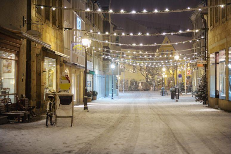 Weihnachtliches Bayreuth