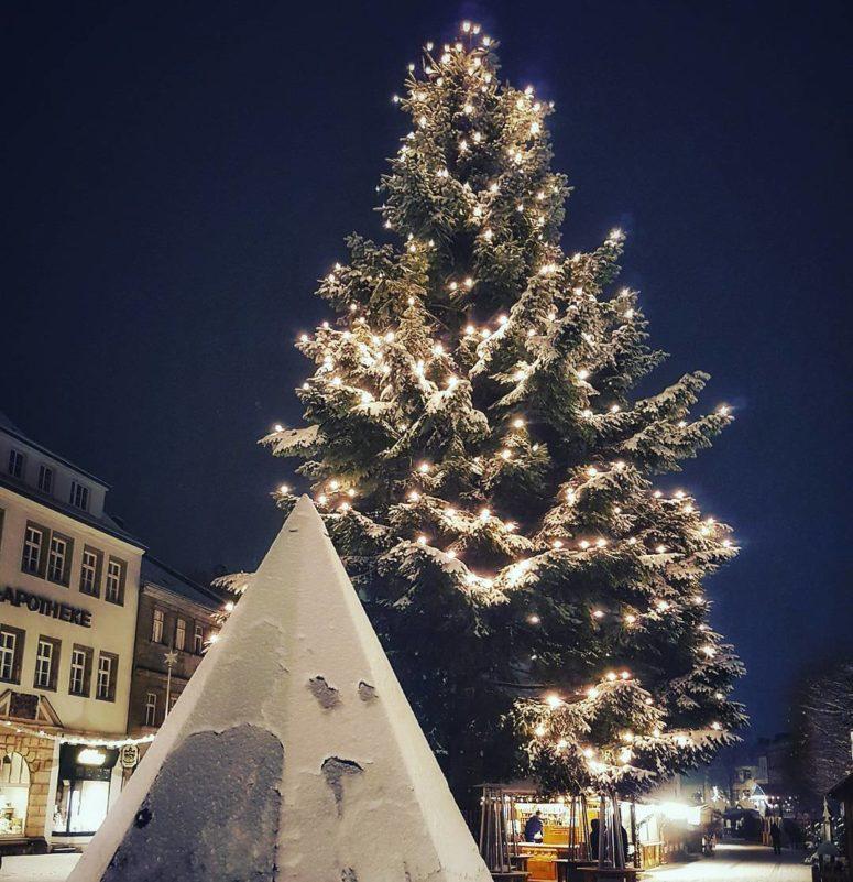Christkindlesmarkt Bayreuth Weihnachtsbaum