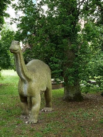 Bild eines Dinosauriers