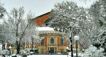 Festspielhaus im Winter