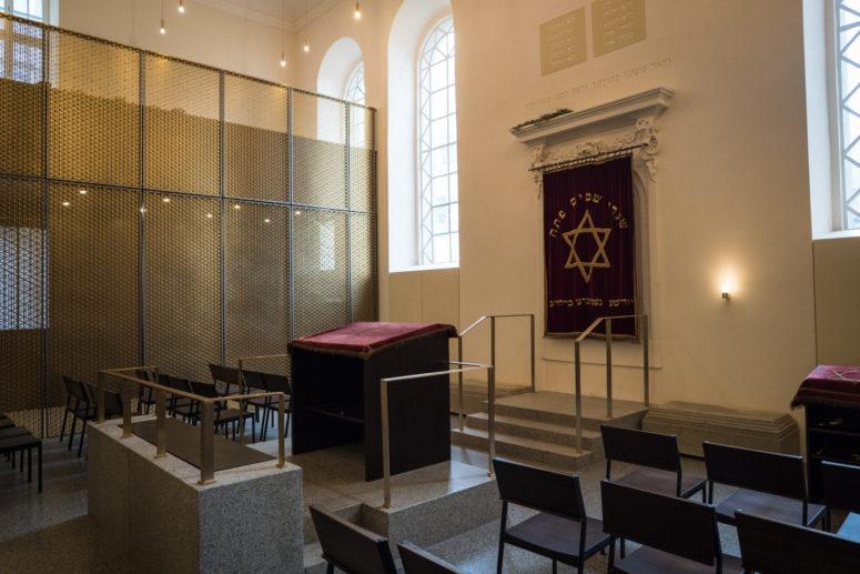 Innenaufnahme Synagoge Bayreuth