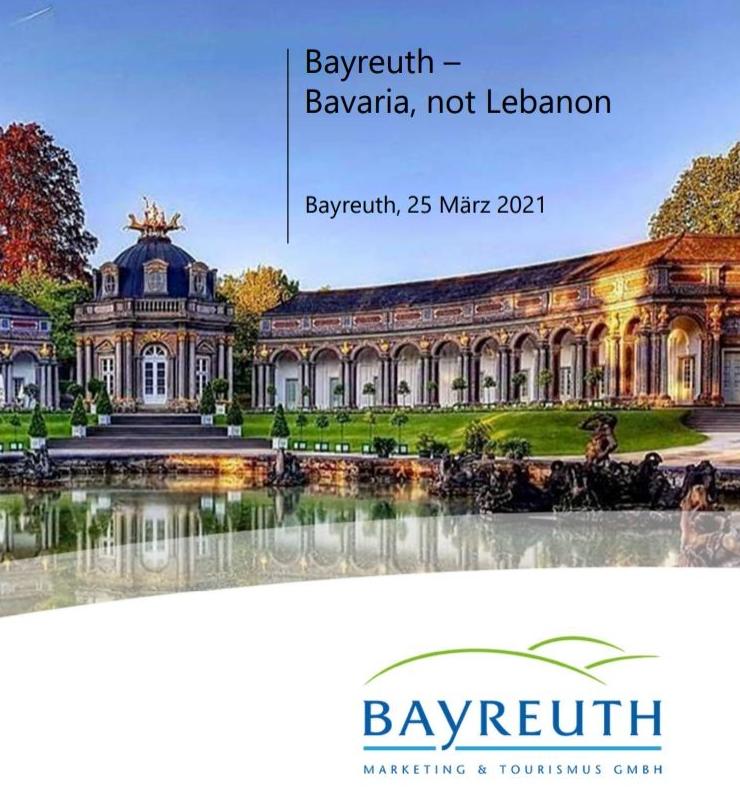 Bayreuth - Bavaria, not Lebanon