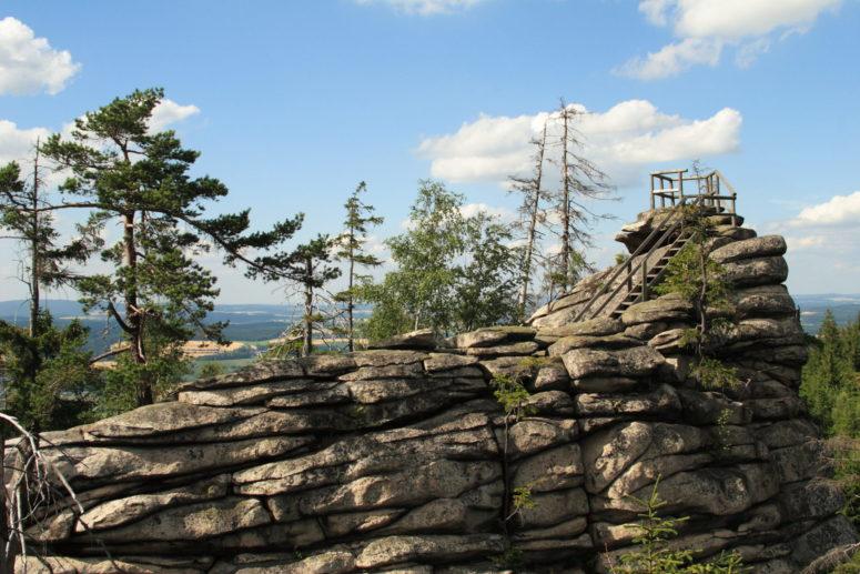 Gipfel der Kösseine
