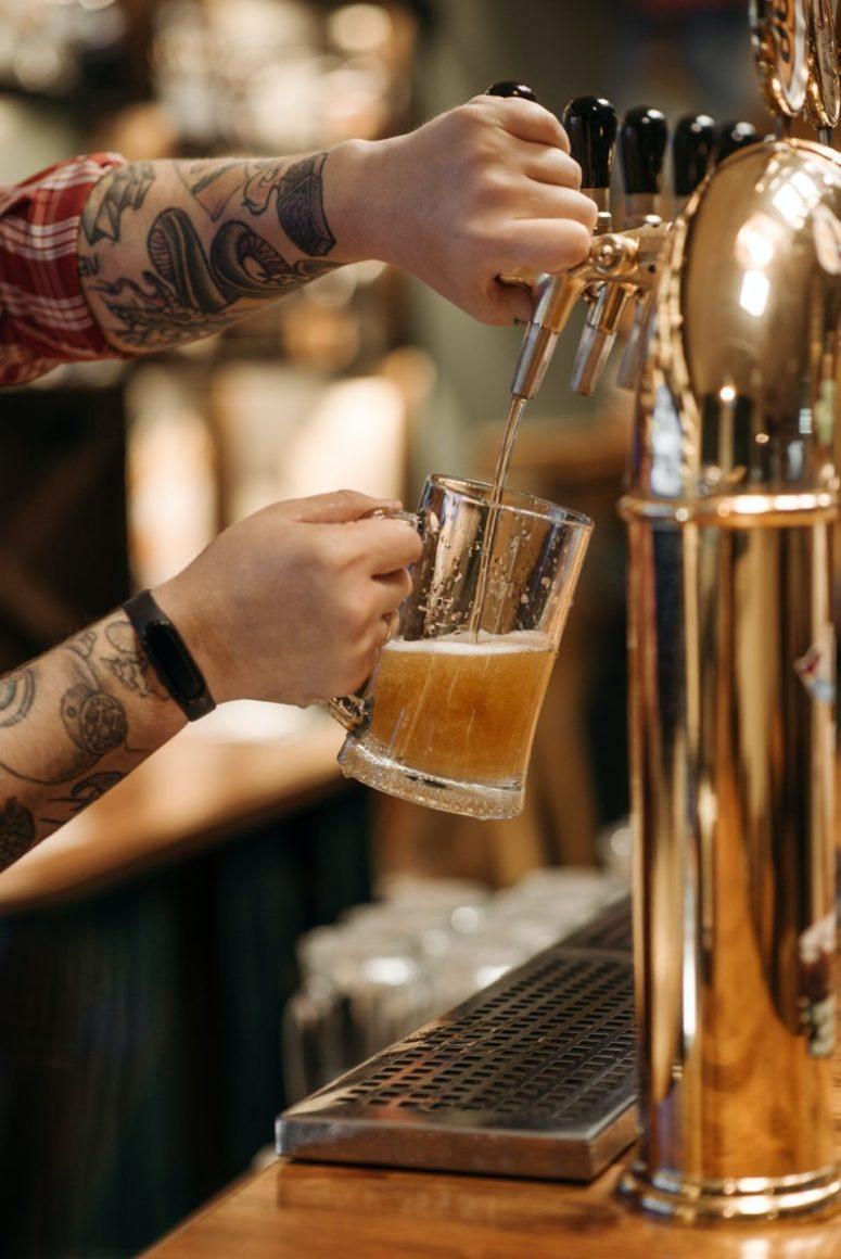Bier Zapfhahn