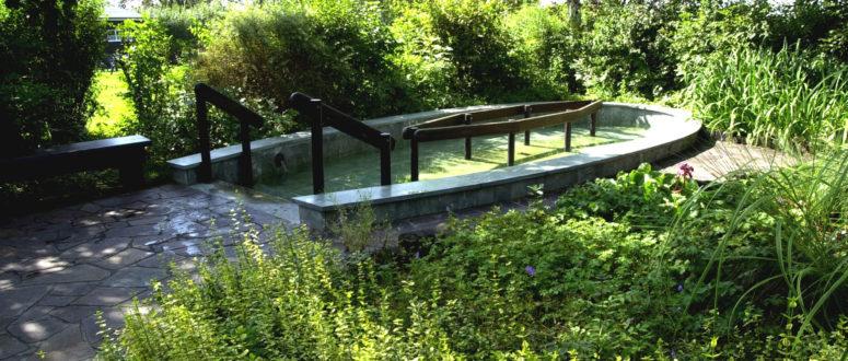 Kneipp-Anlage im Freiluftbad