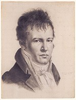 Alexander von Humboldt (Selbstportrait, 1814)