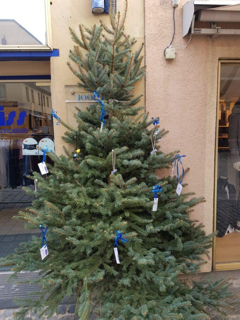 Weihnachtsbaum der Bayreuther Einzelhändler