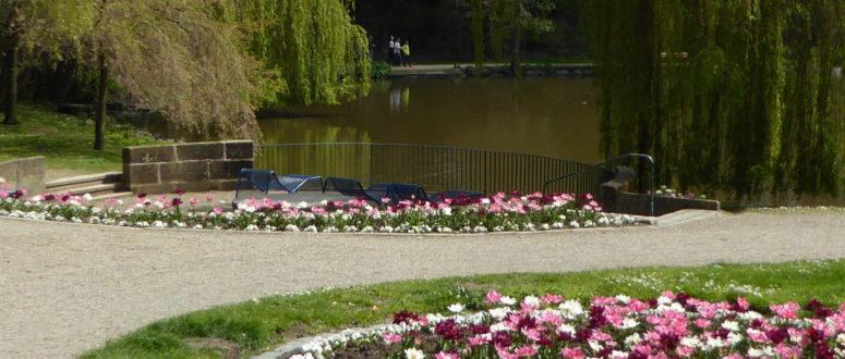 Innenstadtroute über die Uni Bayreuth