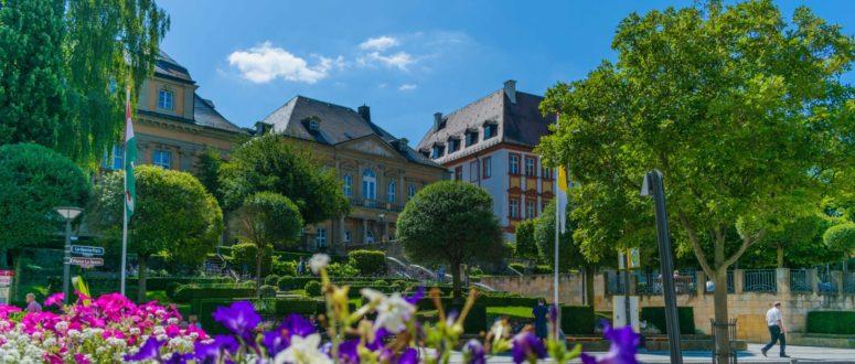 Schlossterrassen Canale Grande Innenstadt