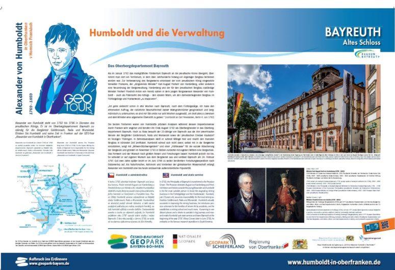 Tafel Humboldt Bayreurth