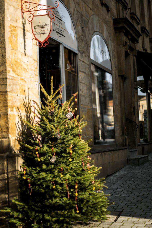 Weihnachtsbaum in der Innenstadt