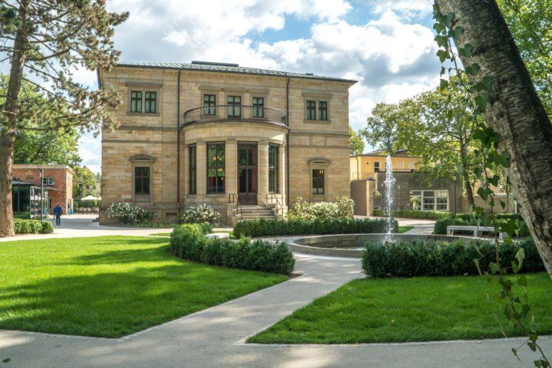 Richard Wagner Museum mit Aussenbereich