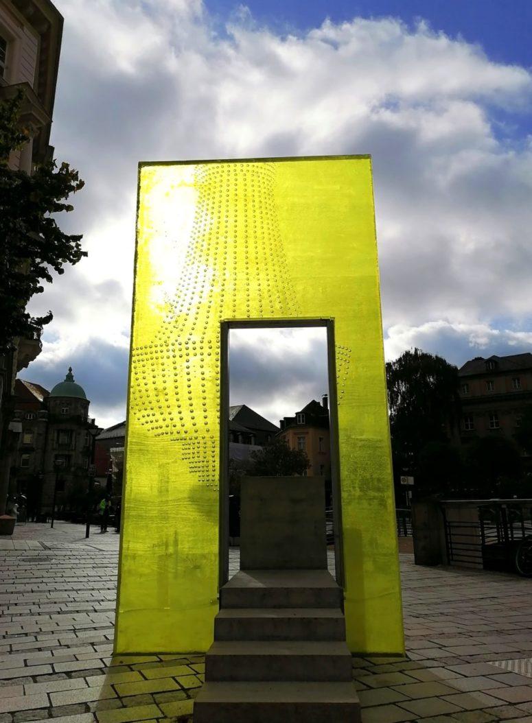 Kunst im öffentlichen Raum am Luitpoltplatz