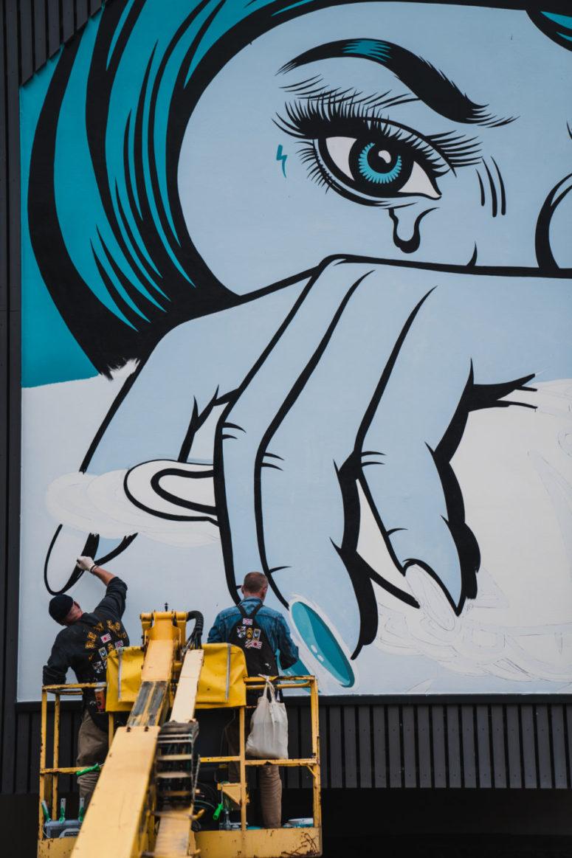 Urban Art im Liebesbierhotel